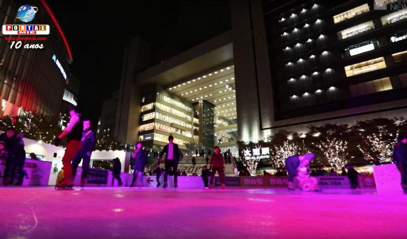 &nbspAberta a temporada de patinação no gelo em Osaka