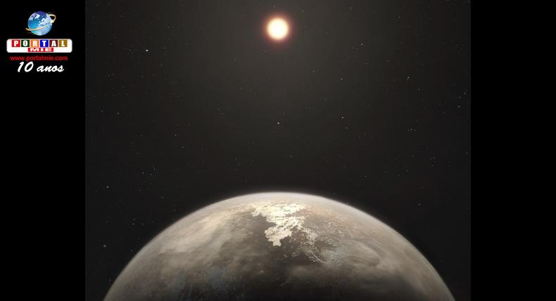 &nbspAstrônomos descobrem planeta com temperatura similar à Terra