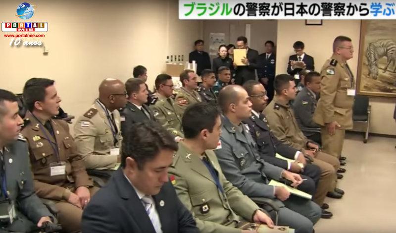 &nbspPoliciamento comunitário do Japão é tema da visita dos policiais militares do Brasil