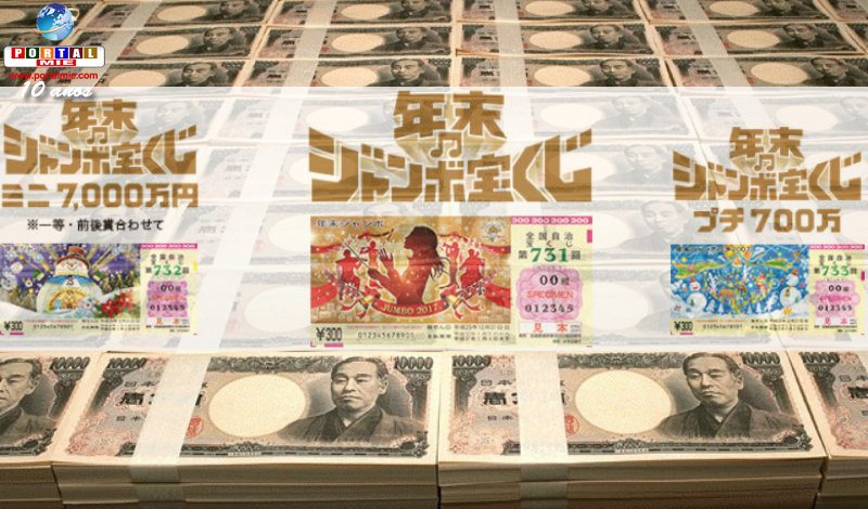 &nbspFilas para comprar o sonho de ser o ganhador de 1 bilhão de ienes