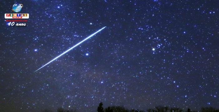 Chuva de meteoros de gemínidas terá pico na madrugada desta quinta
