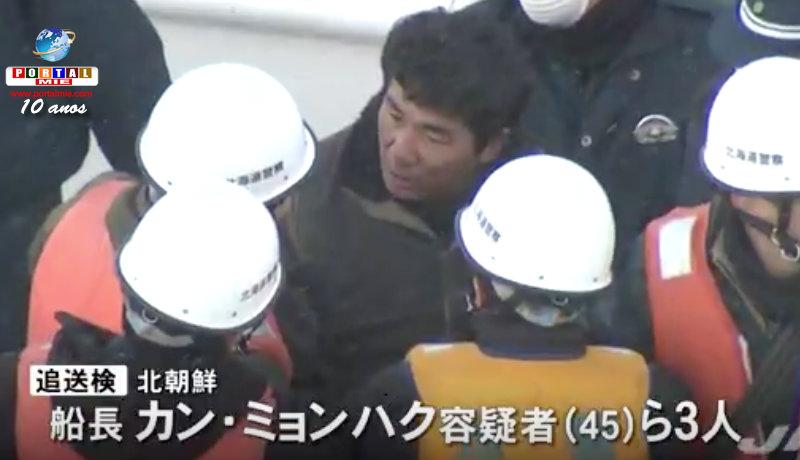 &nbspCapitão norte-coreano indiciado e 8 serão deportados
