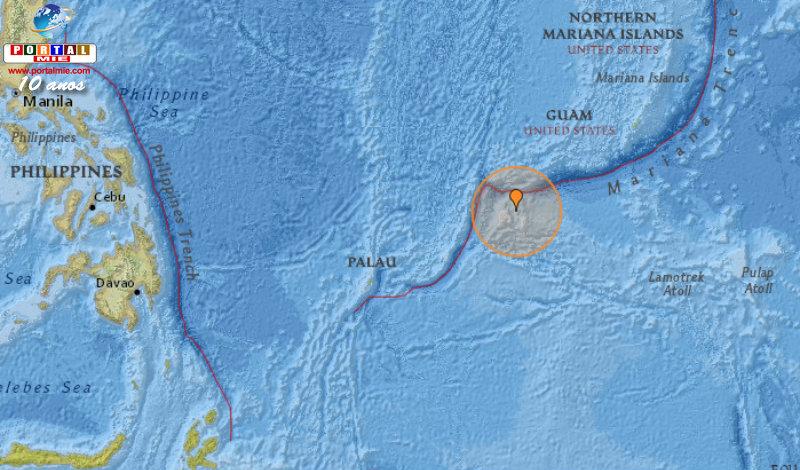&nbspTerremoto de magnitude 6,6 na Micronésia