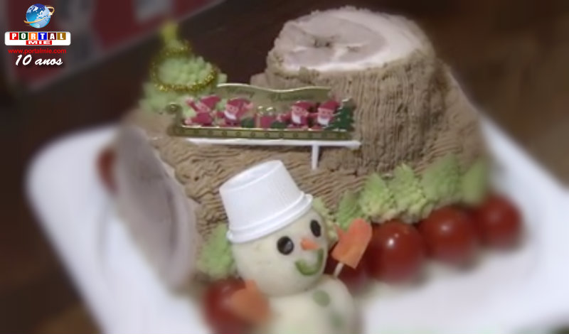 &nbspTradicional Bûche de Noël diferente para se inspirar