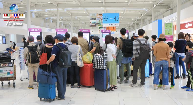 &nbspNúmero recorde de pessoas fará viagens internacionais no feriado de final de ano