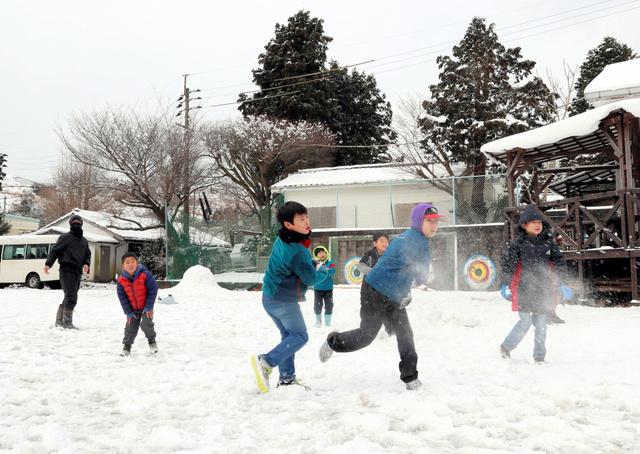 &nbspPico das neves intermitentes será na sexta-feira