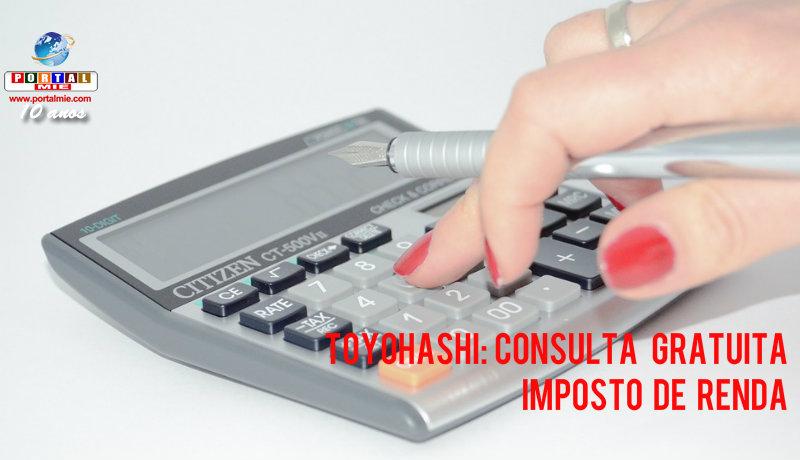 &nbspToyohashi: consulta gratuita para imposto de renda