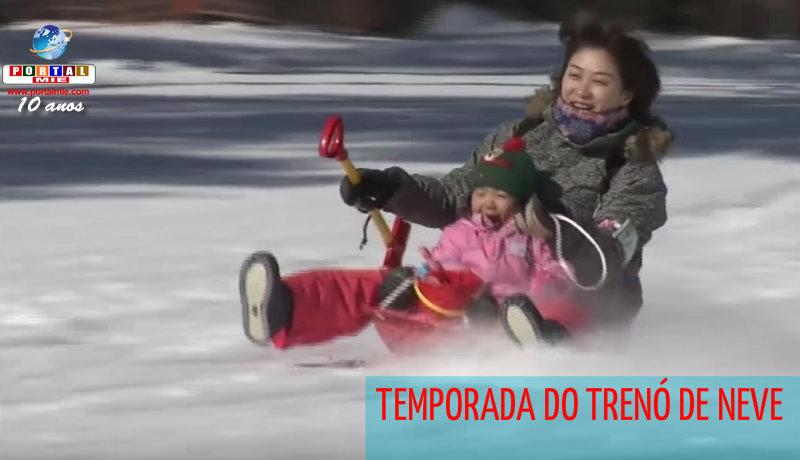 &nbspPista exclusiva para trenó de neve
