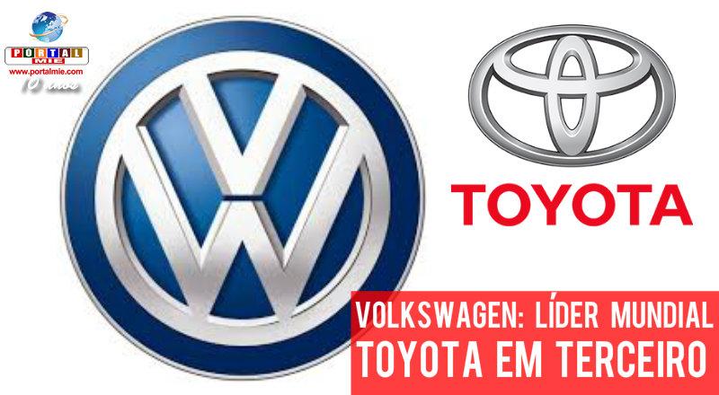 &nbspToyota não alcança a líder Volkswagen