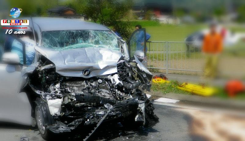 &nbspAichi registra o maior número de mortes por acidentes em 2017