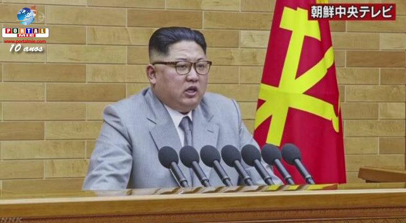 Kim Jong Un reitera que pode atingir EUA com armas nucleares