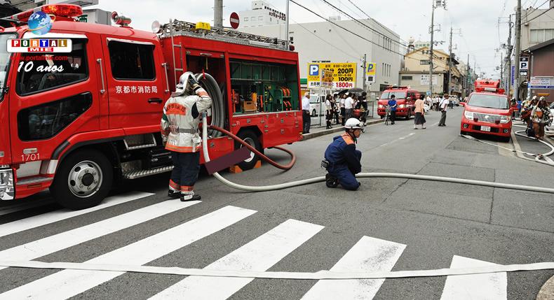 &nbspNúmero de mortes em decorrência de incêndios diminui no Japão