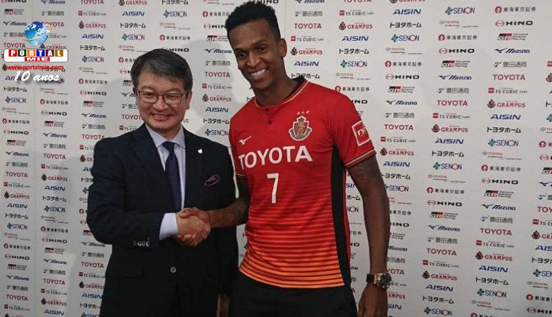 &nbspJô, ex-Corinthians, já veste camisa do Nagoya Grampus