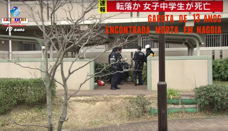 &nbspGarota de 13 anos morre por cair do prédio em Nagoia
