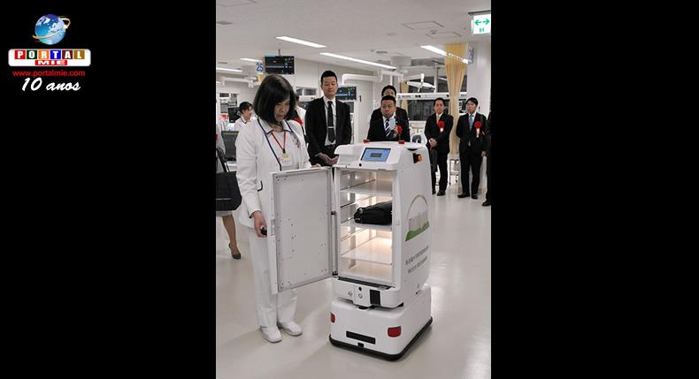 &nbspHospital em Nagoia usará robôs para entregar medicamentos e materiais