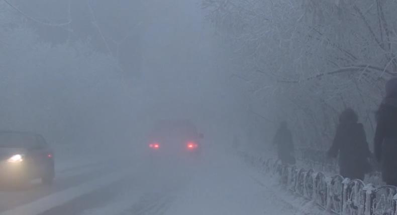 &nbspTemperaturas chegam a -67ºC em região da Rússia