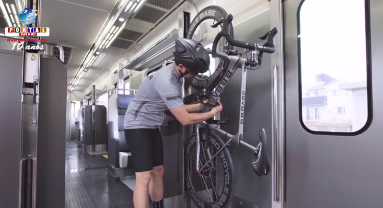&nbspTrem exclusivo para ciclistas inicia operações entre Tóquio e Chiba