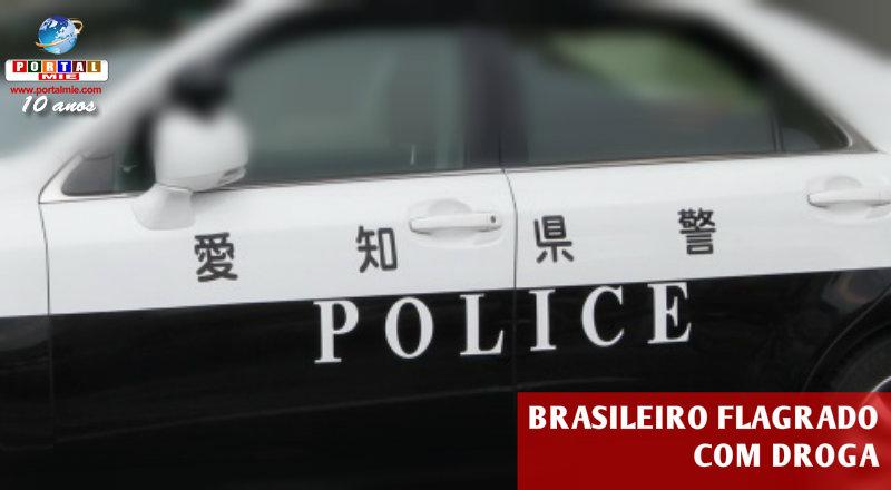 &nbspPolícia de Aichi flagra brasileiro com droga