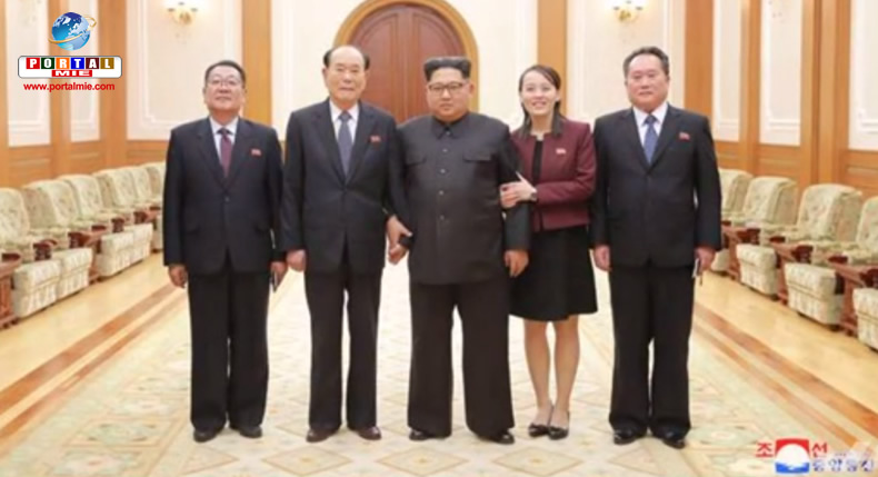 &nbspKim Jong-un diz que é importante manter clima de reconciliação com a Coreia do Sul