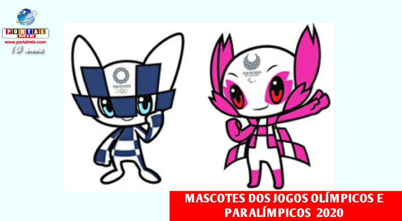 Novos Pokémon? Não, são os mascotes dos Jogos Olímpicos de Tóquio 2020