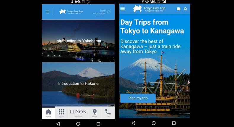 &nbspKanagawa oferece empréstimo gratuito de smartphone para turistas