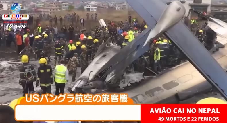 &nbspQueda de avião no Nepal deixa 49 mortos