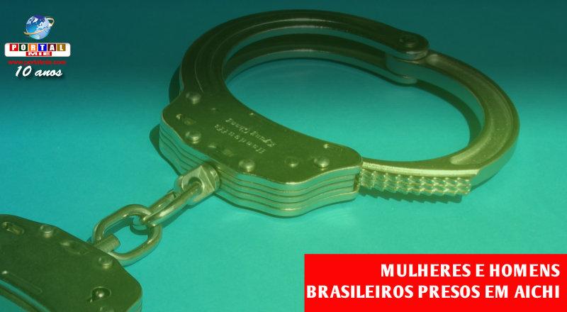 &nbspBrasileiros presos em Aichi por uso de droga e furto de pneus