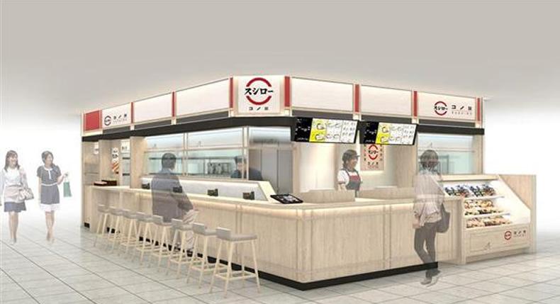 &nbspSushiro inaugura 1ª loja sem esteira de sushi