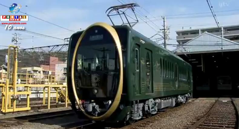 &nbspTurismo em Quioto: novo trem com design futurístico
