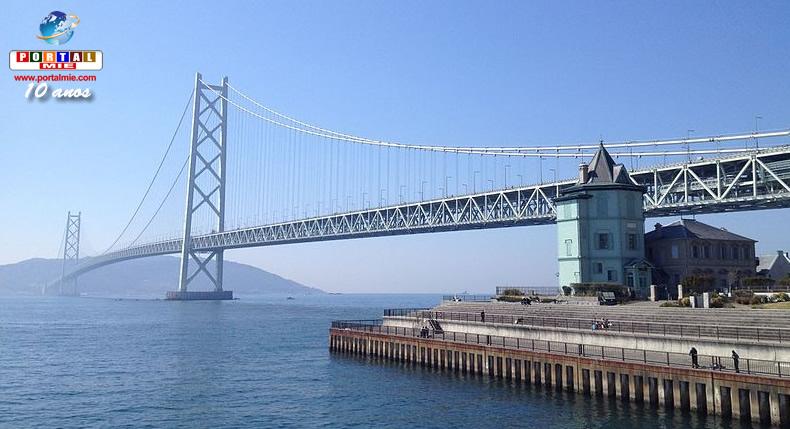 &nbspAkashi Kaikyo: a ponte suspensa mais longa do mundo completou 20 anos