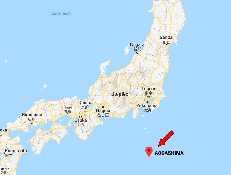 &nbspAogashima, conheça mais esta incrível ilha no Japão