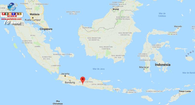&nbspTerremoto deixa 3 mortos e destrói centenas de casas na Indonésia