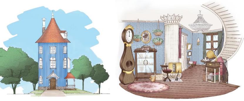 &nbspParque temático do Moomin anuncia data de inauguração no Japão