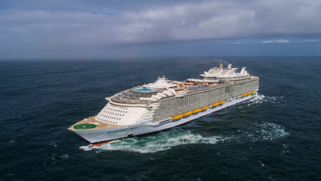 &nbspSymphony of the Seas: o maior navio de cruzeiro do mundo