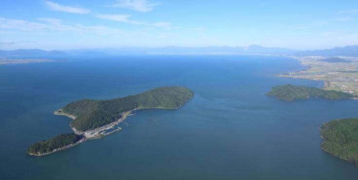&nbspOkishima: a maior ilha no maior lago do Japão