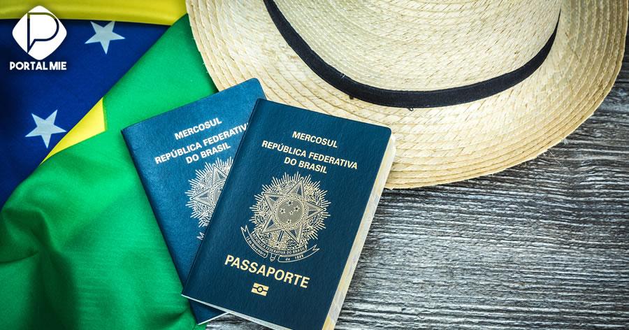 &nbspBrasileiro pode viajar para mais de 150 países sem visto de turista