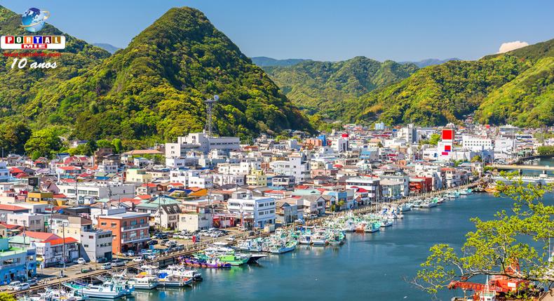 &nbspPenínsula de Izu em Shizuoka é registrada como geoparque da UNESCO