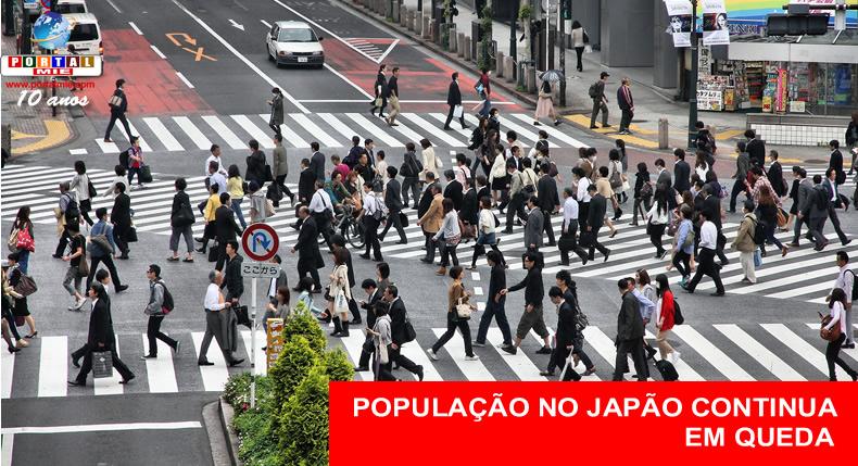 &nbspPopulação do Japão diminui pelo 7º ano consecutivo