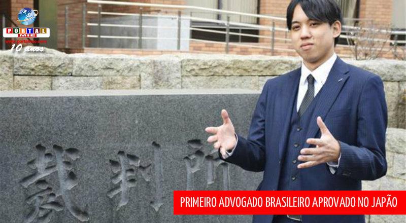 &nbspPrimeiro advogado brasileiro formado no Japão