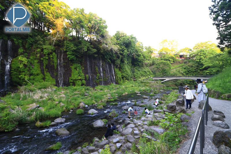 &nbspA bela cachoeira de Shiraito em Shizuoka