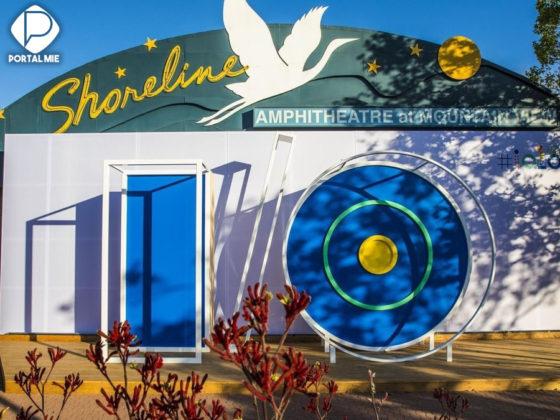 O evento foi realizado em Shoreline Amphitheatre na Califórnia