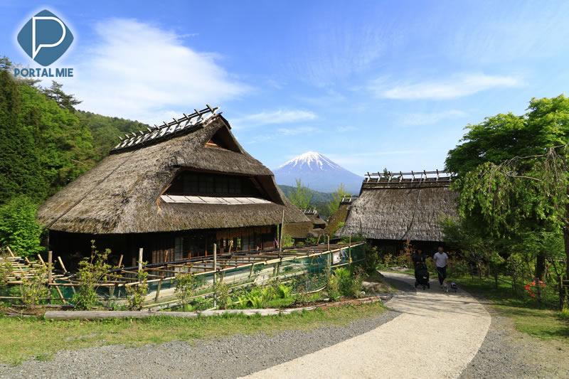 &nbspViaje no tempo em um passeio pela bela Iyashi no Sato