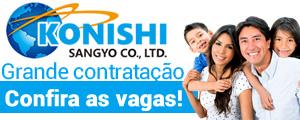 Empregos no Japão - Konishi Sangyo