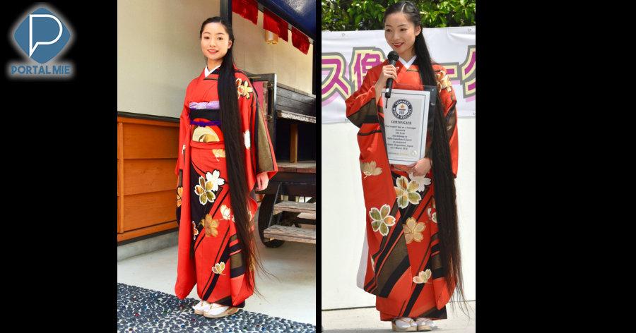 &nbspCabelo de teen mais longo do mundo é de colegial japonesa