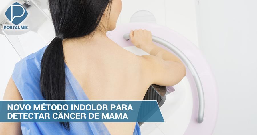 &nbspPesquisadores desenvolvem método indolor para detectar câncer de mama