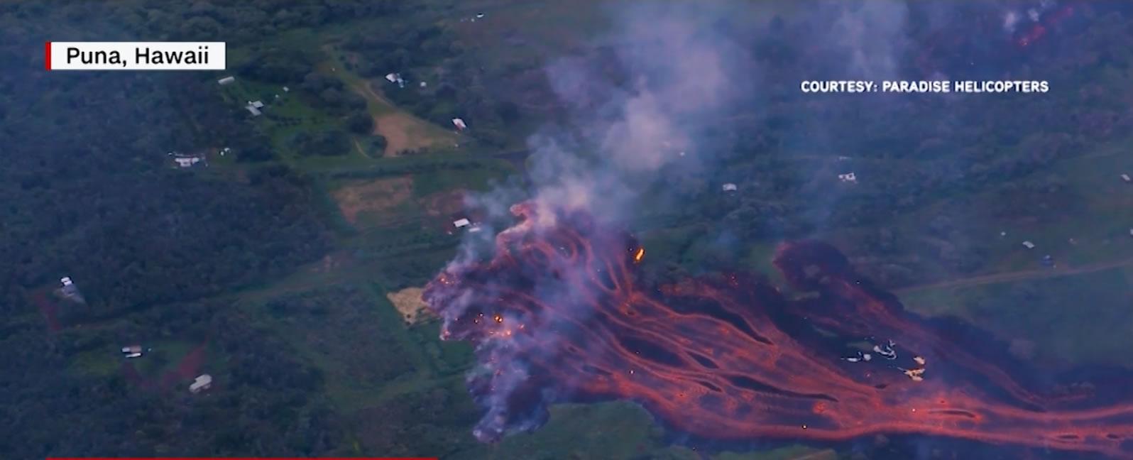 &nbspLava do vulcão Kilauea chega ao Oceano Pacífico e cria outro perigo