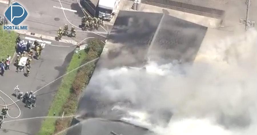 &nbspAichi: incêndio em prédio de apartamentos
