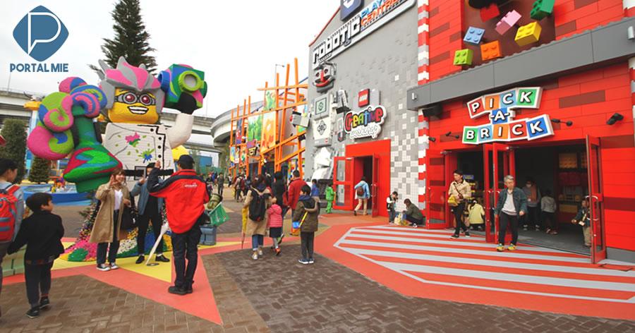&nbspParque da Lego em Nagoia redobra esforços para atrair visitantes