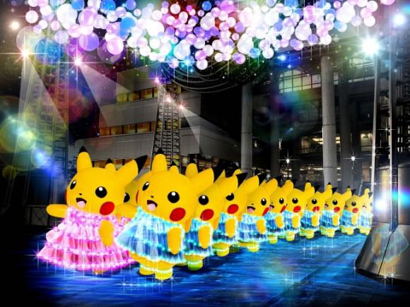 &nbspMais de mil Pikachus em festival no Japão