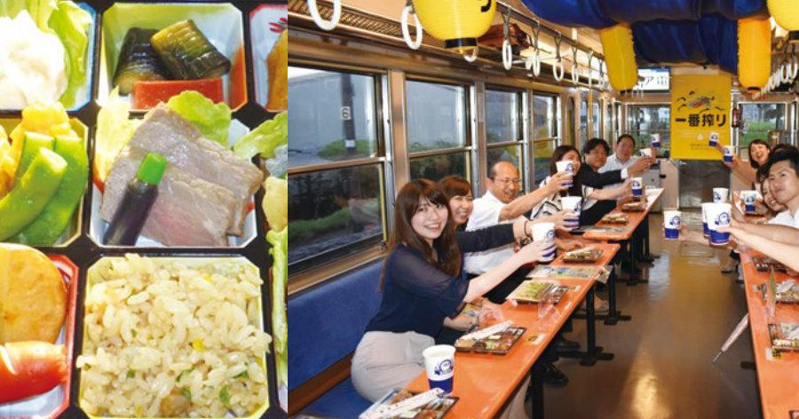 &nbspChopp e boa comida dentro do vagão de trem